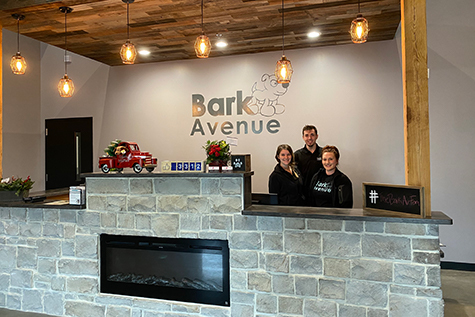 Staff At Ankeny Bark Avenue Front Desk